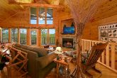 Luxurious Cabin that Features a Gas Fireplace