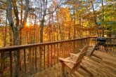 2 Bedroom Cabin with Wooded View & Private Deck