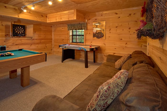 1 Bedroom Cabin Sleeps 6 with Game Room - Amazing Sunset