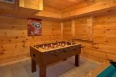 1 Bedroom Cabin Sleeps 6 with Foosball Table