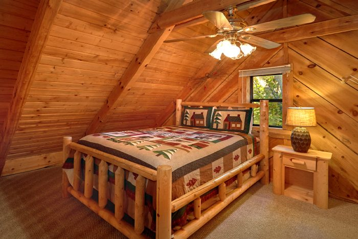 1 Bedroom Cabin Sleeps 6 with Extra Loft Bed - Amazing Sunset