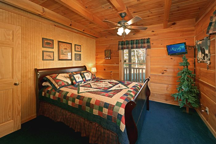 Cabin with Queen Bed - Amazing View