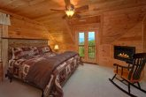 Private King Bedroom with Fireplace and Jacuzzi