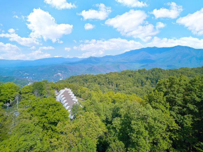Views of the Smokies from 5 Bedroom cabin - Amazing Views to Remember