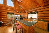 Kitchen in Cabin with Great Counter Top Space