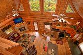Open Floor Plan in Gatlinburg Cabin Rental