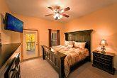 King Bedroom in Gatlinburg Cabin