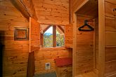 Cabin with Smoky Mountain Views From Bedroom