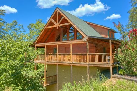 A Simple Pleasure: 2 Bedroom Sevierville Cabin Rental
