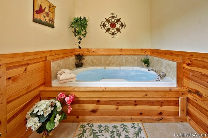 Premium Cabin with Master Bedroom and Jacuzzi - Angel Haven