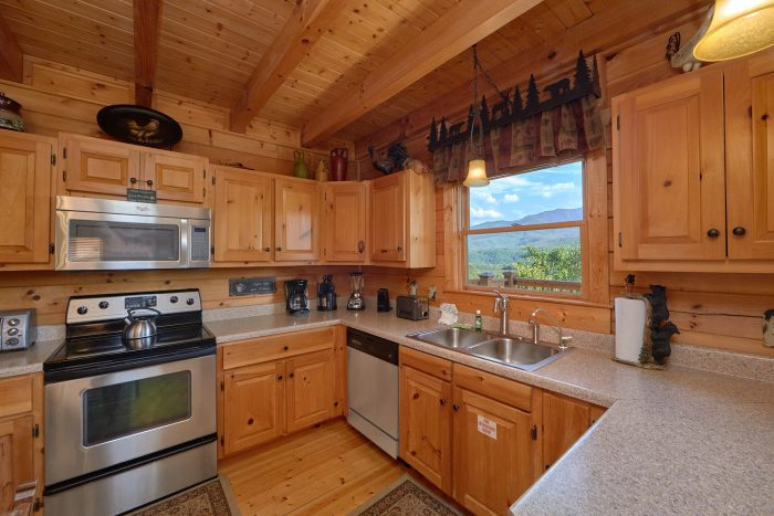 Gatlinburg 2 Bedroom Cabin with KItchen - Angel's Landing