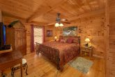 Main Floor Master Bedroom in 2 Bedroom cabin