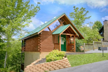 Honeysuckle Home 1 Bedroom Cabin Rental In Pigeon Forge Cabins Usa Gatlinburg