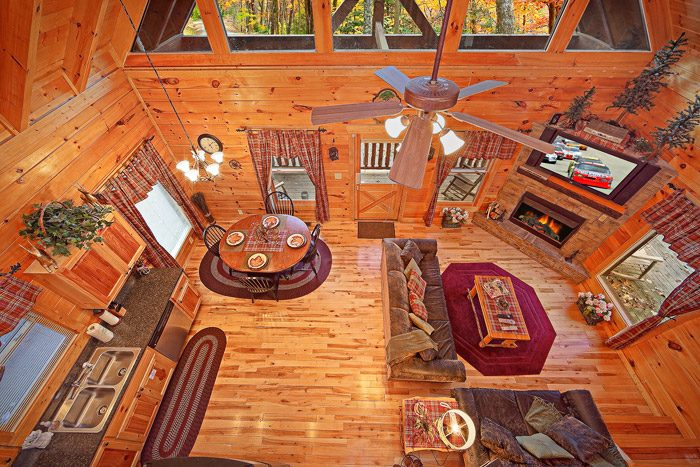 Smoky Mountain Cabin Rental with Open Floor Plan - Antler Ridge