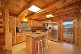 Cabin with Stainless Steel Kitchen Appliances