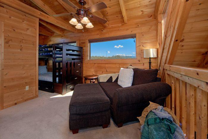 2 Bedroom Cabin with Extra Loft Sleeping - Arcade At The Boondocks