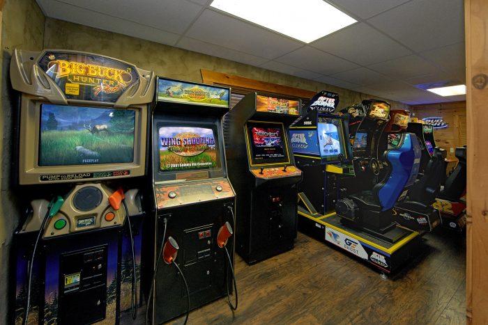 Arcade At The Boondocks 9 Arcade Games - Arcade At The Boondocks