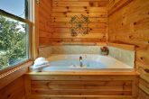 2 Bedroom Cabin with Cozy Indoor Jacuzzi Tub