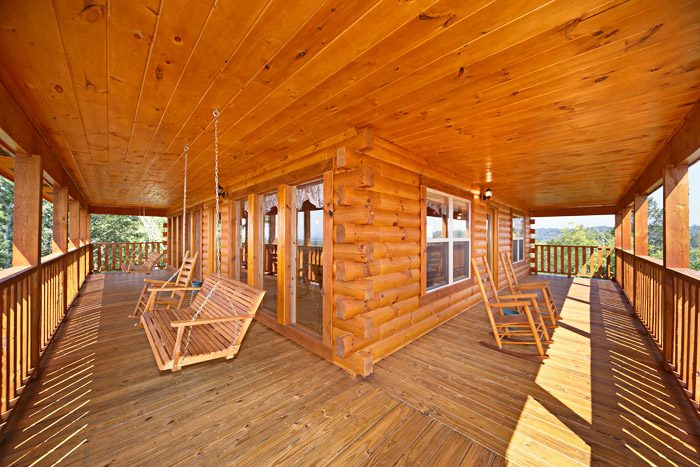 Cabin with Wrap Around Deck - Awesome Views