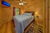 Cabin Gazebo with Ceiling Fan and Lights