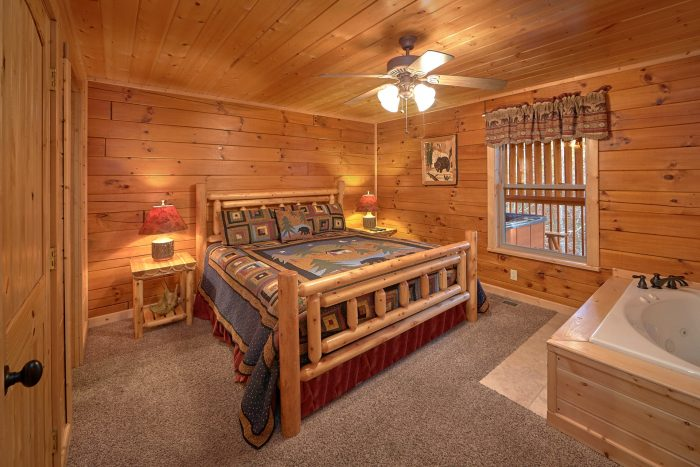 4 Bedroom Cabin with A Main Level Master - Bear Creek Lodge