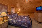 2 Top Floor King Bedrooms Gatlinburg Cabin
