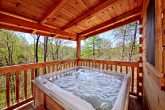 Private Outdoor Hot Tub at Gatlinburg Cabin
