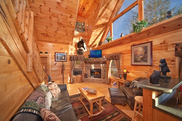 for of beautiful rentals cabin gatlinburg tn mountain cabins in outside smoky spring a