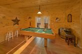 Pool Table in Den
