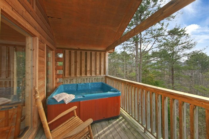 Smoky Mountain Premium Cabin with a Hot Tub - Bear Tracks