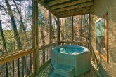 Cabin with Hot Tub for Two