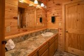 Gatlinburg Cabin with 2 Private Bathrooms