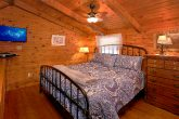 2 Bedroom Cabin Sleeps 6 Loft Bedroom