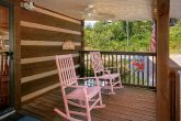 Relaxing Rocking Chairs 2 Bedroom Cabin Sleeps 6