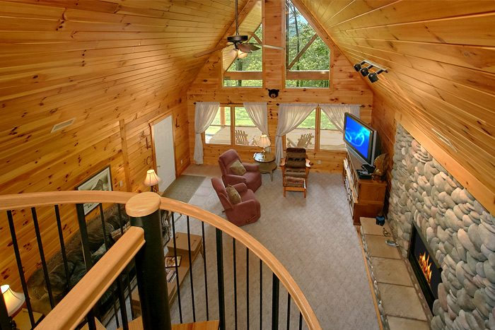Secluded 3 bedroom cabin close to dollywood in the smoky - 3 bedroom cabins in gatlinburg tn cheap ...