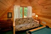 Cabin with Loft Game Room and Futon