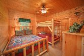 Twin Bunk Beds with Queen Bedroom