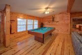 Pigeon Forge Cabin with Pool Table and 3 Bedroom