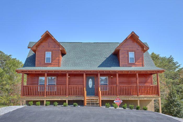 Bear Cove Falls 5 Bedroom Cabin Sleeps 14 - Big Mack Lodge