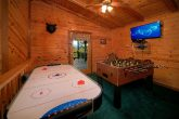 Game Room with Foos Ball and Air Hockey
