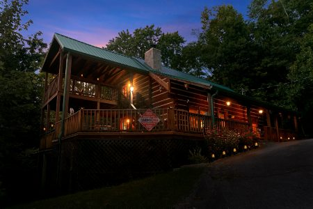 Southern Charm: 2 Bedroom Sevierville Cabin Rental