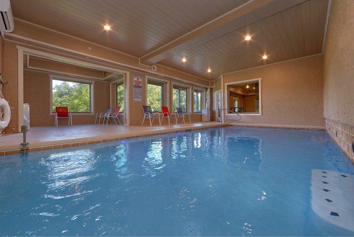 16 Bedroom Cabin With Indoor Pool Cabins Usa Gatlinburg