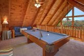 3 Bedroom Cabin with Pool Table and Loft