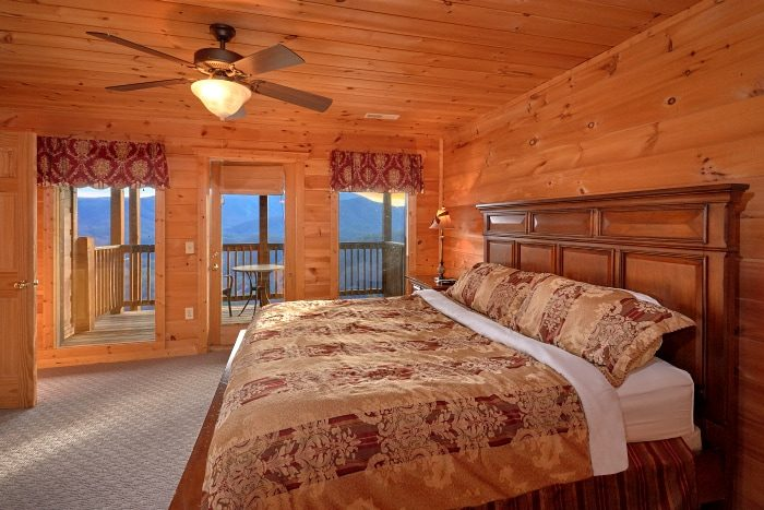 5 Bedroom Cabin All King Suites with Fireplaces - Breathtaker