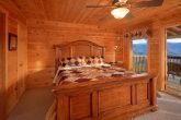 King Bedroom with Mountain Views from deck