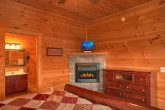 Theater Room Cabin with 5 King Beds & Fireplaces