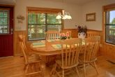 Cabin with Dining Area with seating for 8