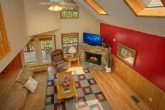 Cabin with Large Living Room and TV