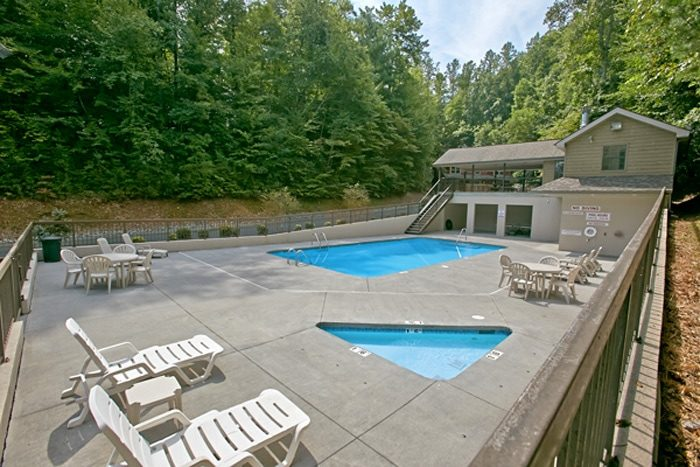 Pigeon Forge Cabin with Resort Pool Access - Brentwood