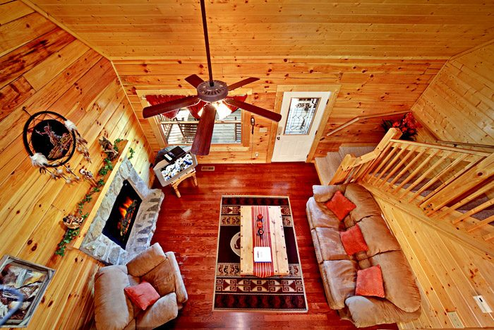 Cabin with Open Floor Plan - Campbells Cabin